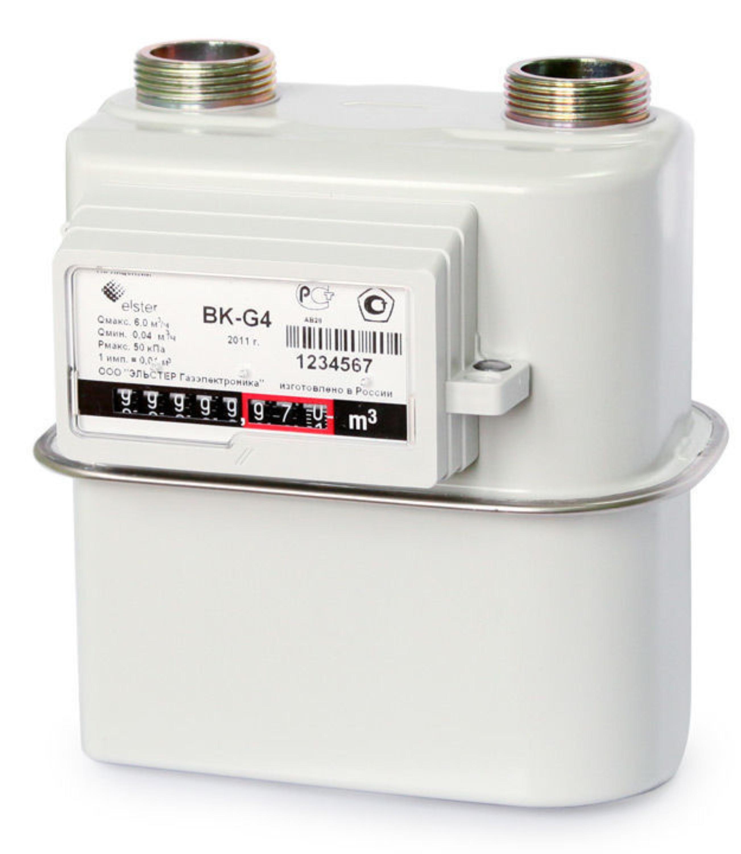 счётчики газа бытовые